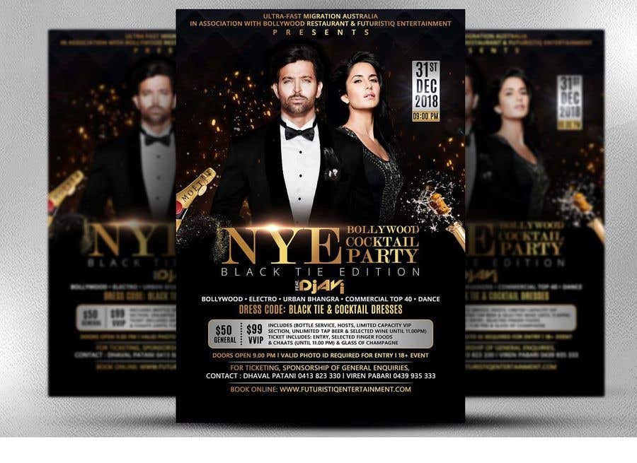 Kilpailutyö #29 kilpailussa NYE Bollywood Cocktail Party (Black Tie Edition)