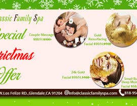 #50 para Design a Christmas seasonal promotional banner ad for a spa por asma467