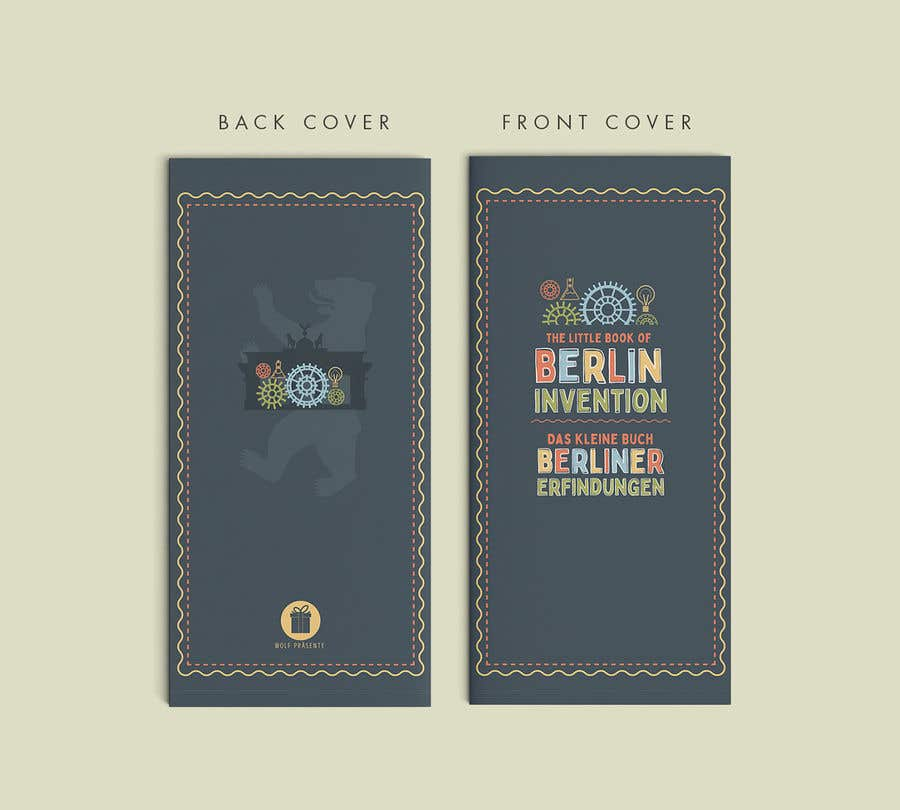 Contest Entry #25 for re Design of a booklet about inventions from the city of Berlin