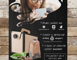 #112 para Brand identity launch flyers for coffee delivery service por BettyCH