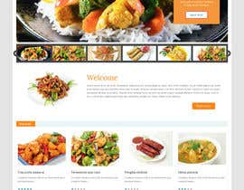 #24 cho Design template for Opencart fast food takeaway website bởi ameyk