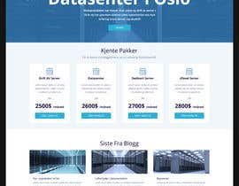 #156 para Design only for hosting company - 2 pages por dilshanzoysa