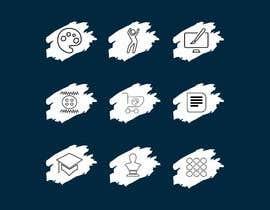 #26 para Require 9 icons in vector format por josepave72