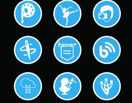 #38 for Require 9 icons in vector format by radiancepub
