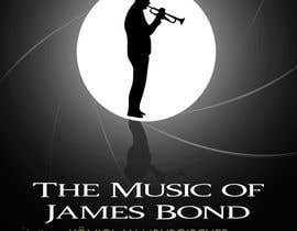 #54 for James Bond Poster Design for Orchestra Concert by AdoWesley