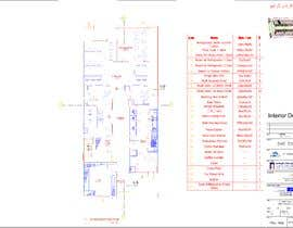 nº 8 pour To design interior interior furniture and equipments layout for a restaurant par bad3d3