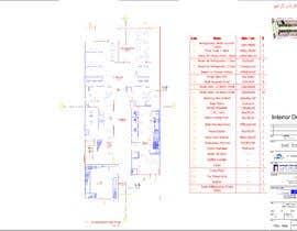 #8 untuk To design interior interior furniture and equipments layout for a restaurant oleh bad3d3