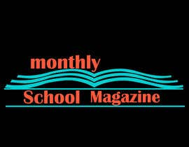 """esetan86 tarafından Design a Logo for """"monthly school magazine"""" için no 9"""