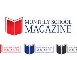 """janani1234 tarafından Design a Logo for """"monthly school magazine"""" için no 13"""
