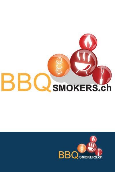 Kilpailutyö #212 kilpailussa Logo Design for our new Company: BBQ-Smokers