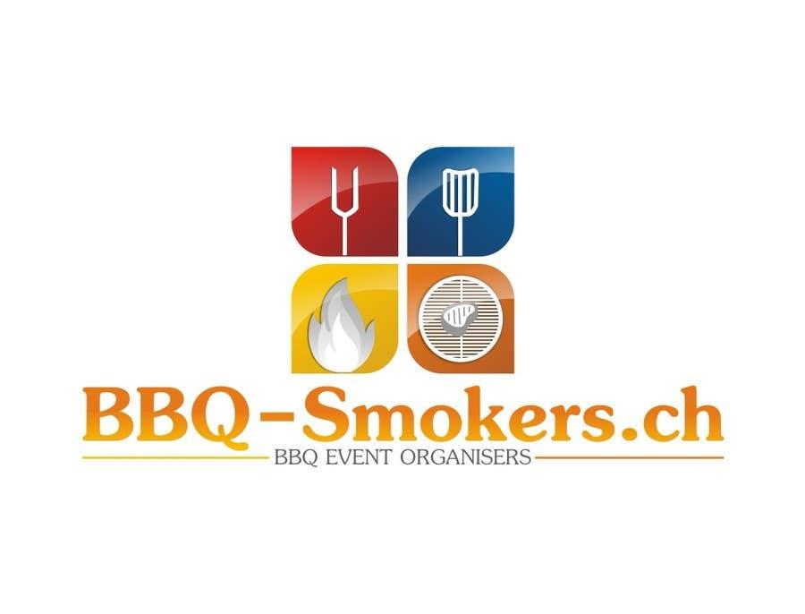 Kilpailutyö #208 kilpailussa Logo Design for our new Company: BBQ-Smokers