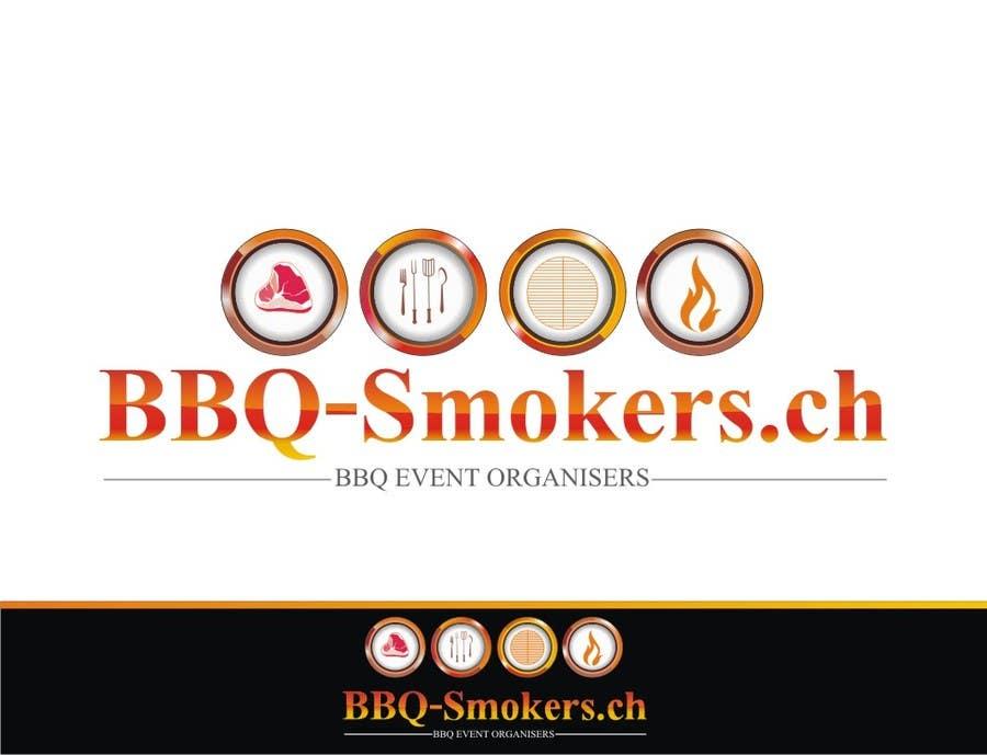 Kilpailutyö #281 kilpailussa Logo Design for our new Company: BBQ-Smokers