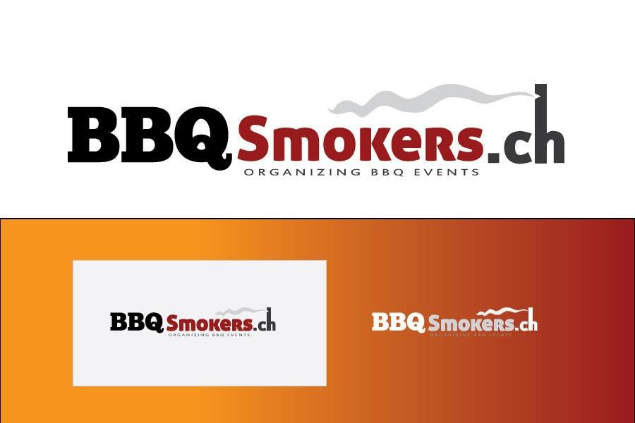 Kilpailutyö #174 kilpailussa Logo Design for our new Company: BBQ-Smokers