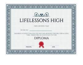 #7 for Designing a DIPLOMA by nambinarayanan98