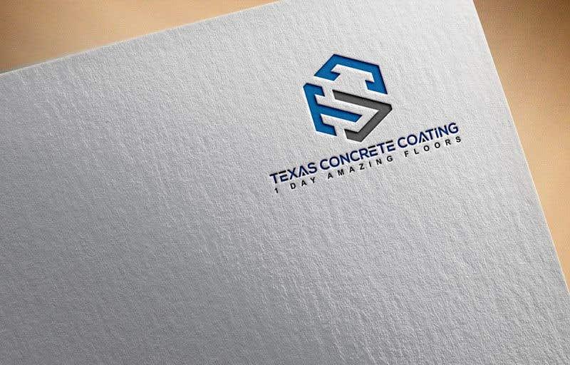 Penyertaan Peraduan #1203 untuk Modern Logo for New Concrete Coating Company