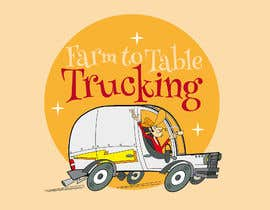 """#17 untuk Logo for """"Farm to Table Trucking"""" to be displayed on a truck and on emails to Chefs oleh josemb49"""