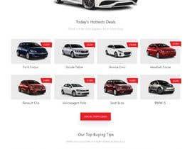nº 10 pour Build a website design and ui kit for a car dealer website par TeamAlphaSH