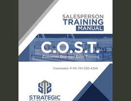 Create a workbook cover sheet for salesperson training