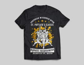 #36 for Tshirt graphic - SWO St Patrick's Classic Karate Tournament by rafiulhasan919