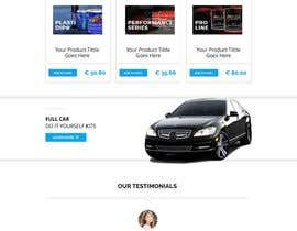 #1 для Redesign graphic homepage buttons for an e-commerce website от leenon