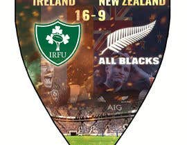 #54 для IRE vs NZ rugby competition poster от sayannandi41