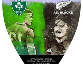 #24 для IRE vs NZ rugby competition poster от shiranipicture