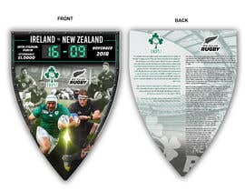 #64 для IRE vs NZ rugby competition poster от ericzgalang