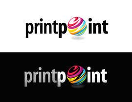 #315 para Logo Design for Print Point de pinky