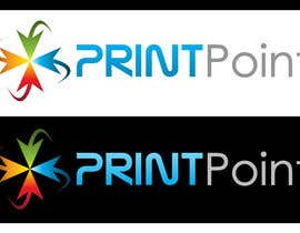 #255 para Logo Design for Print Point de mixfocuz