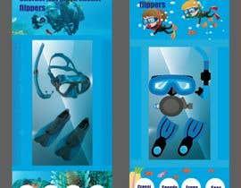 #25 for Packaging for snorkelling gear af maryamnazargol