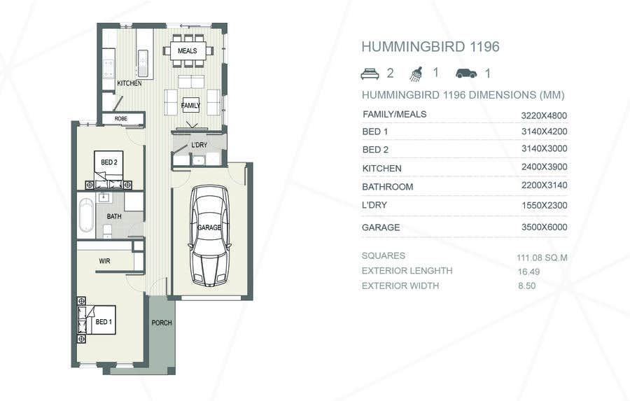 Entry #48 by arcalaamohamed for Turn AutoCAD Drawing into