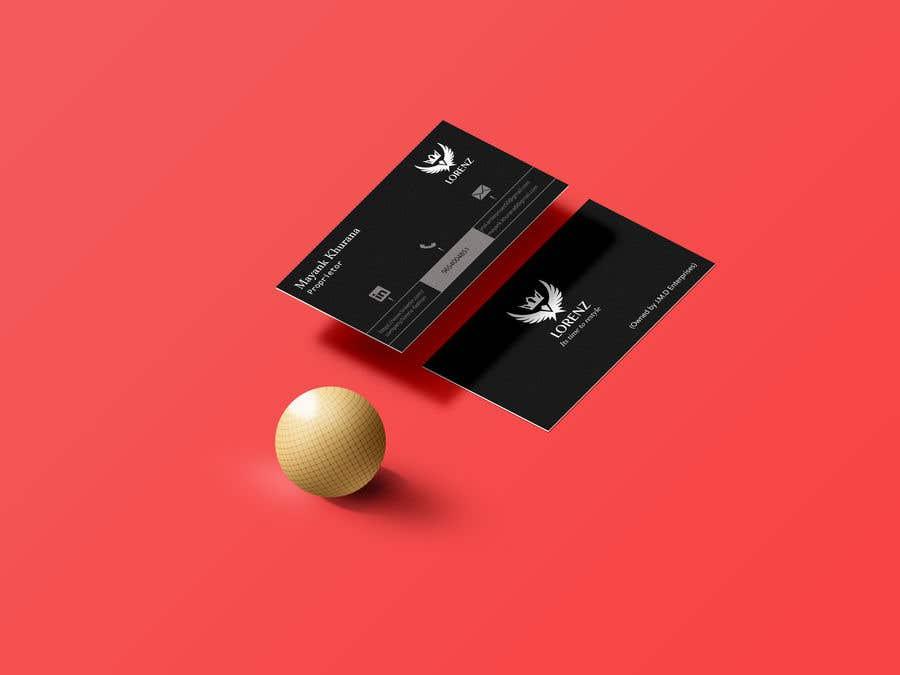 Inscrição nº 65 do Concurso para Visiting Card Design
