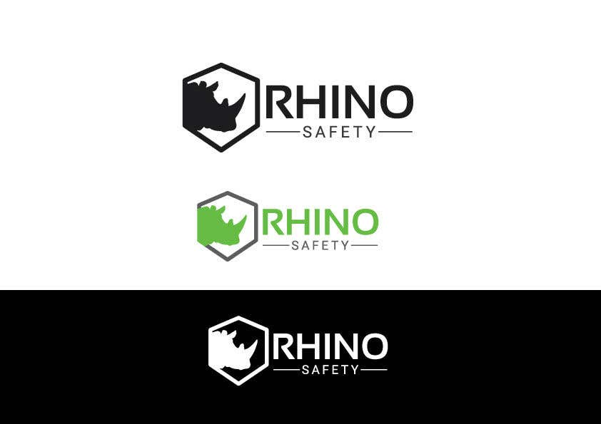 Contest Entry #98 for Rhino Safety Logo