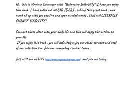 #32 para Create a PDF Workbook for my clients struggling with Infertility por sarahmuhammad571