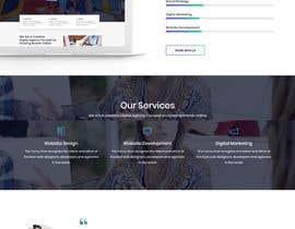 #30 para Design web and mobile app development company website mockup por safiur925