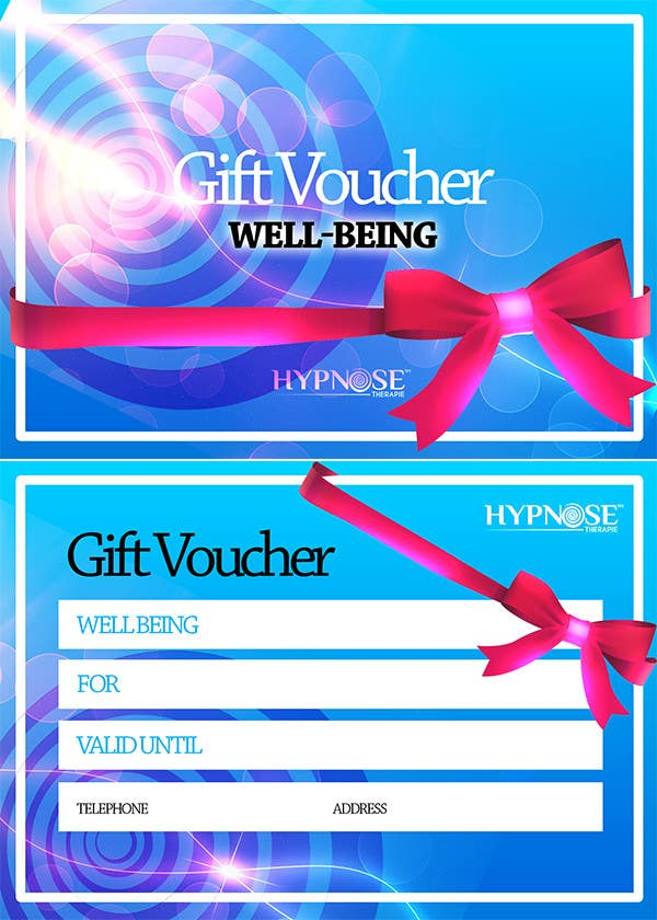 #32 for Design of GIFT VOUCHERS : for HYPNOSIS by MJBenitez