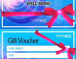 #32 для Design of GIFT VOUCHERS : for HYPNOSIS от MJBenitez