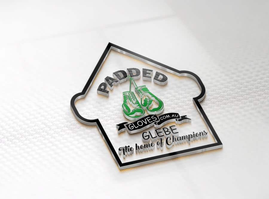 Penyertaan Peraduan #                                        34                                      untuk                                         LOGO Padded Gloves com au
