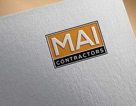 #212 untuk Contractor Logo oleh designguruuk