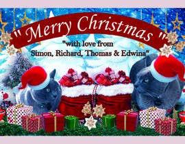 #58 untuk Digital Christmas card(s) with photos of my pet cats oleh asadulislambit
