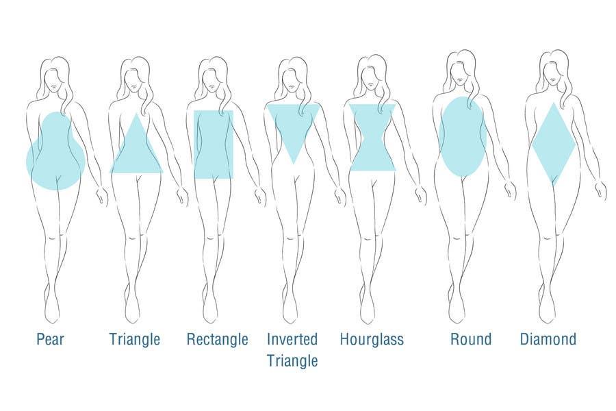Penyertaan Peraduan #7 untuk Illustration Design for female body shapes/ types