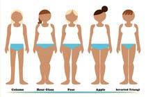 Graphic Design Entri Peraduan #8 for Illustration Design for female body shapes/ types