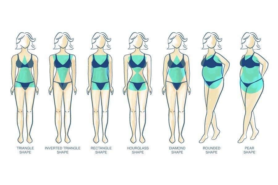 Penyertaan Peraduan #                                        30                                      untuk                                         Illustration Design for female body shapes/ types