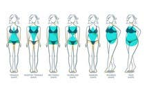 Graphic Design Entri Peraduan #29 for Illustration Design for female body shapes/ types
