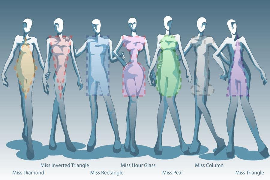 Inscrição nº 60 do Concurso para Illustration Design for female body shapes/ types