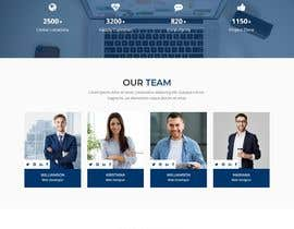 #10 pentru Design smooth, elegant, luxurious, classy, sleek, BUT SIMPLE website for cutting edge technology consulting services. High tech, custom and special systems, futuristic technology company. de către mdbelal44241