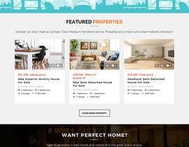 #23 for Real Estate Website Mock Up by anusri1988