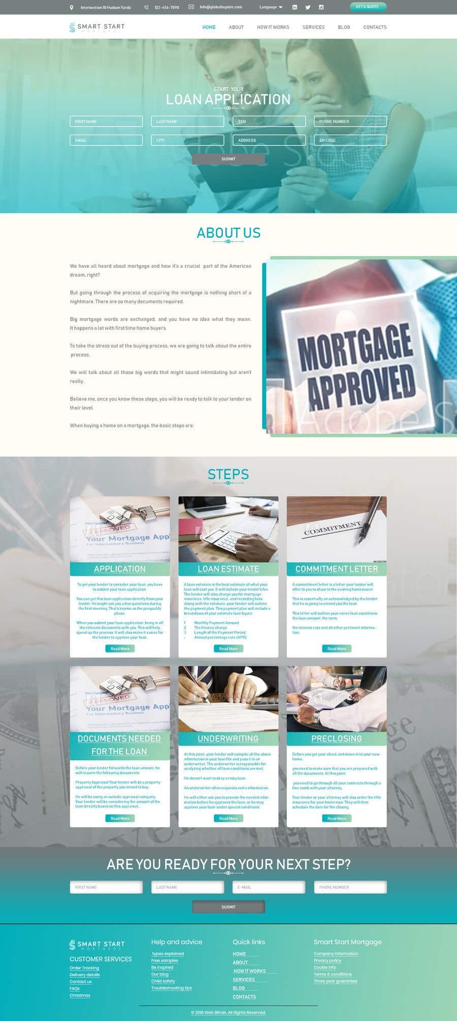 Contest Entry #28 for Real Estate Website Mock Up