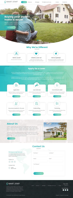 Contest Entry #2 for Real Estate Website Mock Up