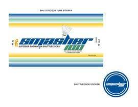 #7 for Badminton Tube Package Logo & Design af sandy4990